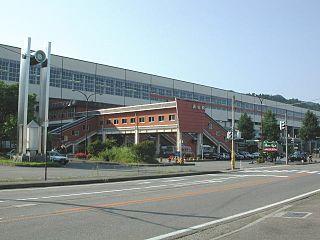 Urasa Station Railway station in Minamiuonuma, Niigata Prefecture, Japan