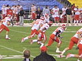 Utes kick off at 2009 Poinsettia Bowl.JPG
