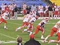 Utes kick off at 2009 Poinsettia Bowl.JPG