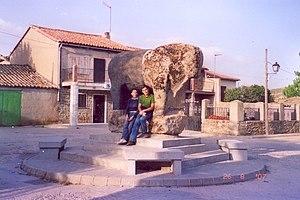 Villanueva del Campillo - The Verraco in the town, is the biggest found in the iberian peninsula.