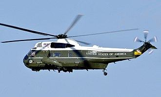 Marine One - Marine One in flight over Washington, D.C. 2005