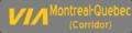 VIA Rail Montreal Quebec icon.png