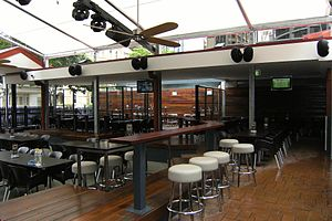 Victory Hotel - Beer garden