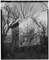 VIEW TO EAST-SOUTHEAST - Hayt Farmstead, Cool Storage Shed, Route 311, Patterson, Putnam County, NY HABS NY,40-PAT,2-C-2.tif