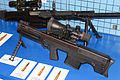 VKS sniper rifle without suppressor at Engineering Technologies 2012 Side.jpg