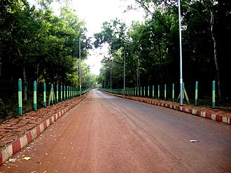 Visvesvaraya Technological University - A boulevard at VTU campus