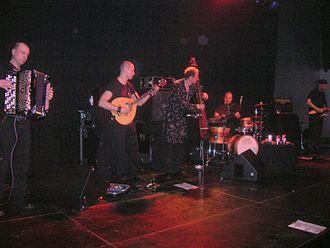 Värttinä - The band's instrumentalists in 2006.