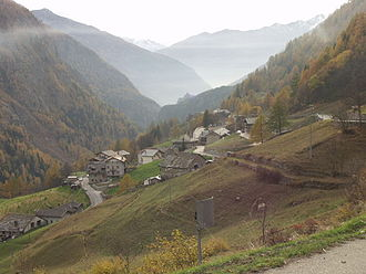 Bionaz - Bionaz valley