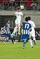 Valais Cup 2013 - OM-FC Porto 13-07-2013 - Tête de Baptiste Aloé.jpg