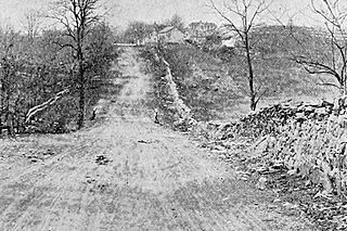 Valley Pike highway in Virginia