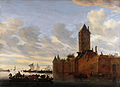 Van Ruysdael S Flussmündung Stadt.JPG