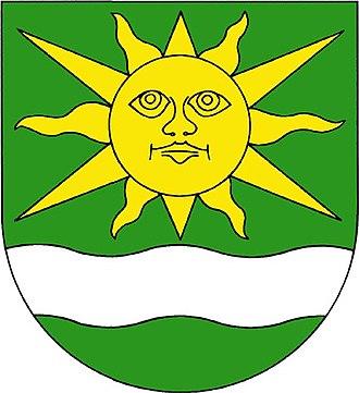 Sun (heraldry) - Image: Vedomice znak