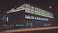 Veduta notturna edificio B15 via Fucini Lambrate anni 50.jpg