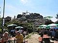 Velký Ostrý - vrchol od chaty.JPG