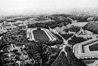 Cricket at the 1900 Summer Olympics - The venue of the match, Vélodrome de Vincennes, at the 1900 Summer Olympics.