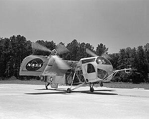 Vertol VZ-2 - Image: Vertol VZ 2 (Model 76) NASA GPN 2000 001732