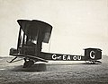 Vickers Vimy, G-EAOU, first flight from England to Australia, 1919.jpg