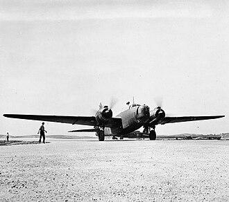Tel Nof Airbase - A 76 OTU Vickers Wellington Mk.X at Aqir, 1944-1945