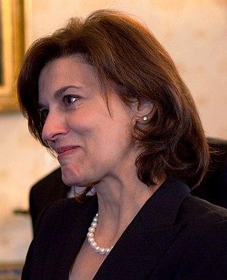 Victoria Reggie Kennedy - Vicki Kennedy at the White House, 2010