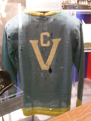 Victoria Cougars - Image: Victoria Cougars 1925 Jersey