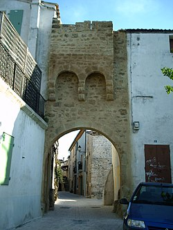 Antic portal nord