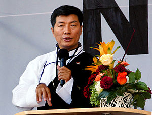 Lobsang Sangay - L. Sangay in Vienna, Austria, in 2012.