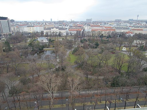 Vienna Stadtpark from above