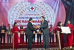 Vietnam's State President Tran Dai Quang Recognizes USAID's Disaster Relief Assistance (39571444891).jpg