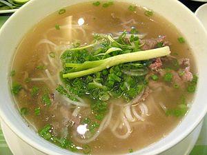 Vietnamese Pho Beef Noodles 2007.jpg