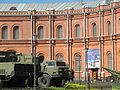 View at the courtyard exposition of the Military-historical Museum of Artillery, Engineer and Signal Corps in Saint-Petersburg, Russia. 2013.jpg