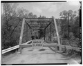 View east, longitudinal - Mill Street Bridge, Spanning Susquehanna River at Mill Street, Cooperstown, Otsego County, NY HAER NY,39-COOP,12-5.tif