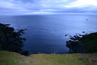Lizard Point, Cornwall - Image: View from Lizard Point