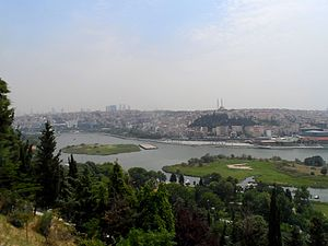 Piyer Loti Museum - View of Golden Horn from Piyer Loti Hill, İstanbul
