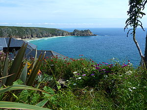 Katharine Burdekin - A view near Minack Head where Burdekin lived with her partner, her mother and sister