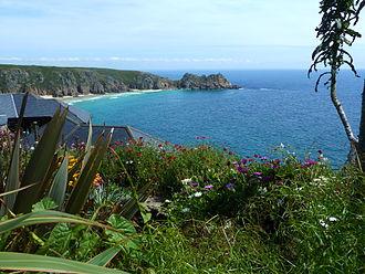 Katharine Burdekin - A view near Minack Head where Burdekin lived with her partner, her mother and sister
