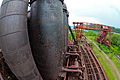 View from on top, Carrie Furnaces, Rankin PA (8907652679).jpg