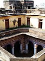 View into the courtyard from roof of Bedi Mahal.jpg