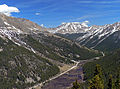 View of Colorado State Highway 82 east from Independence Pass.jpg