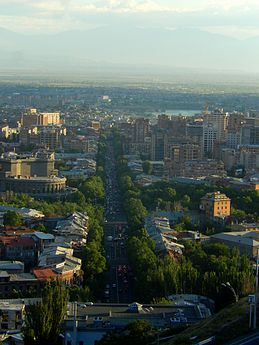 View of Mashtots Avenue, ArmAg.jpg