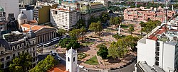 View of Plaza de Mayo