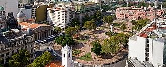 Plaza de Mayo - Image: View of Plaza de Mayo