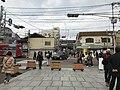 View of Sumiyoshi-Taisha Station in front of Sumiyoshi Grand Shrine.jpg