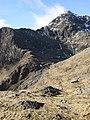 View of Y Gribyn and Snowdon-Yr Wyddfa from the Pyg Track. - geograph.org.uk - 1190090.jpg