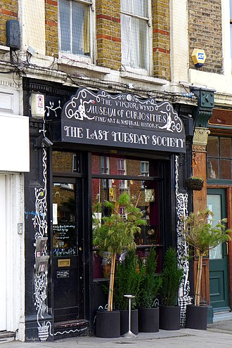 Hackney Central - The Viktor Wynd Museum of Curiosities, Fine Art & Natural History near the Regents Canal, opened 2015
