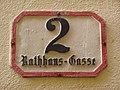 Villach Rathausgasse numer.jpg