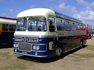 Royal Blue Coach Services - Preserved Eastern Coach Works bodied Bristol MW6G in July 2006