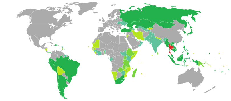 Visa requirements for Thai citizens - Wikipedia