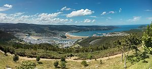 Viveiro - Panoramic view