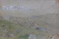 Vue des sommets de la chaine du Mont-Blanc depuis le lac du Brévent.png