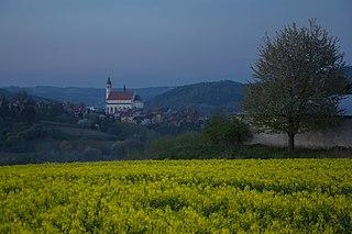 Frysztak Village in Subcarpathian Voivodeship, Poland